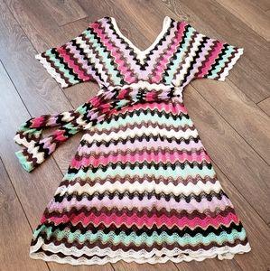 Guess Crochet Dress, Medium